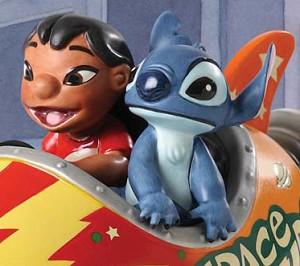 WDCC Disney Classics Lilo and Stitch Storefront Spaceship