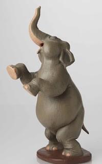 Walt Disney Archives Fantasia Elephant Maquette