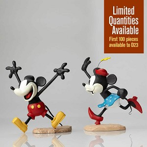 Walt Disney ArchivesMickey and Minnie Color Maquettes