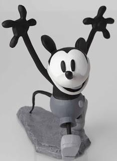 Walt Disney Archives Mickey and Minnie B/W Maquettes