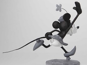 Walt Disney Archives  Mickey and Minnie B/W Maquettes