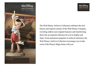 Walt Disney ArchivesPinocchio Maquette