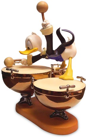 WDCC Disney Classics Symphony Hour Donald Duck Donald's Drum Beat