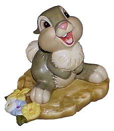WDCC Disney Classics Bambi Thumper Hee! Hee! Hee