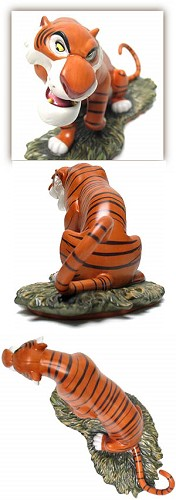 WDCC Disney ClassicsThe Jungle Book Shere Khan Every One Runs From Shere Khan (event Sculpture)