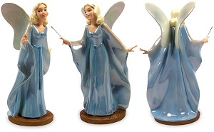 WDCC Disney Classics Pinocchio Blue Fairy Making Dreams Come True