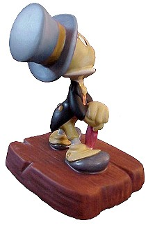 WDCC Disney Classics  Pinocchio Jiminy Cricket Cricket's The Name, Jiminy Cricket