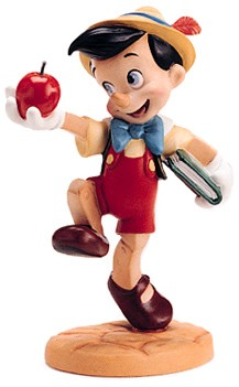 WDCC Disney Classics Pinocchio Goodbye Father