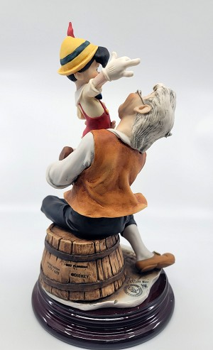 Giuseppe Armani Pinocchio And Gepetto - A Father's Love Artist Signed