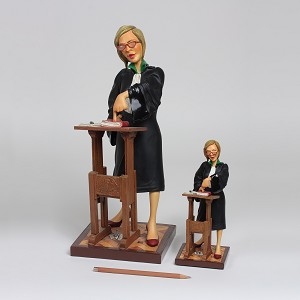 Guillermo Forchino Lady Lawyer 1/2 scale