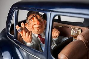 Guillermo Forchino The Big Boss Limousine 1/2 Scale