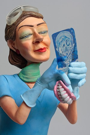 Guillermo Forchino Lady Dentist
