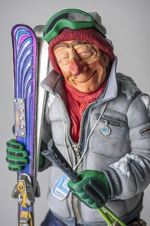 Guillermo Forchino  The Skier