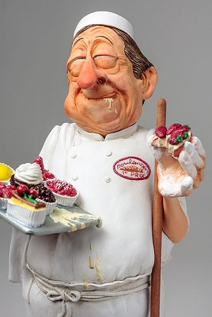 Guillermo Forchino The Baker