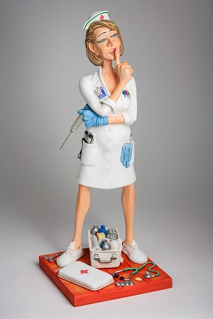 Guillermo Forchino The Nurse / L'Infirmiere 1/2 Scale