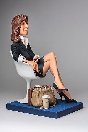 Guillermo Forchino The Businesswoman