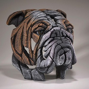 Enesco EDGE Bull Dog Bust