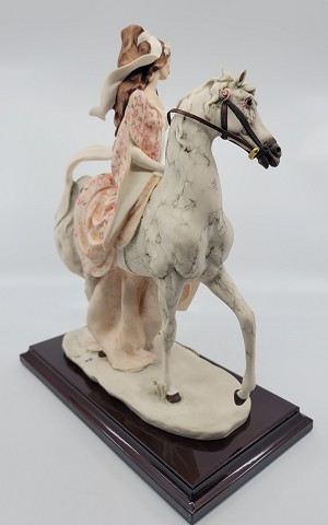 Giuseppe Armani Lady On Horse