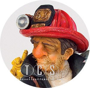 Guillermo ForchinoThe Fire Fighter 1/2 Scale