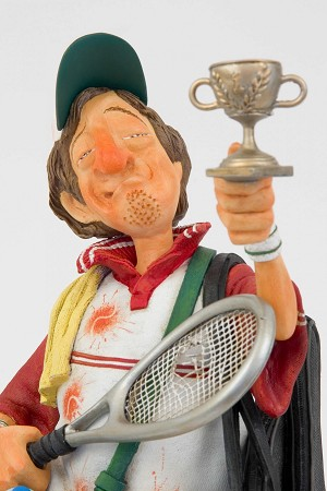 Guillermo ForchinoTennis Player 1/2 Scale