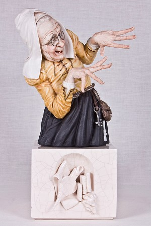 Algora Witches - Brujas With GlassesPorcelain Figurine