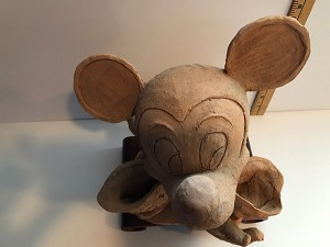 Giuseppe Armani Original Mickey In Clay for Disneyana 1998