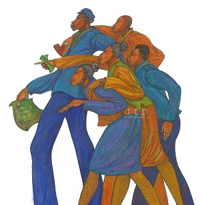 Charles Bibbs Leading The Way Giclee