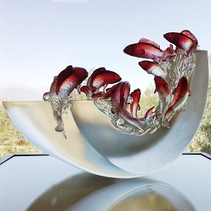 Liuli Crystal Fish (Love All Around) - Nine Dragon Fish