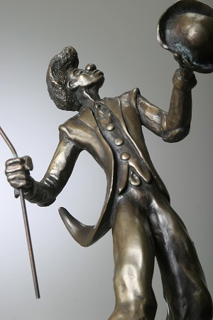 George Nock Flamboyan Bronze Sculpture