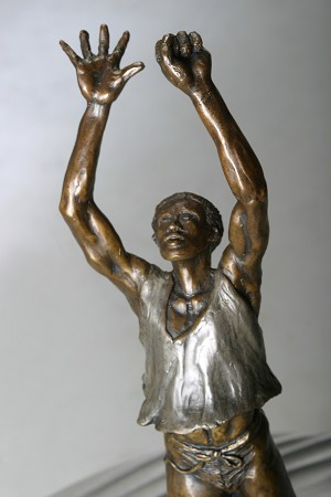 George Nock Emancipation Bronze Sculpture