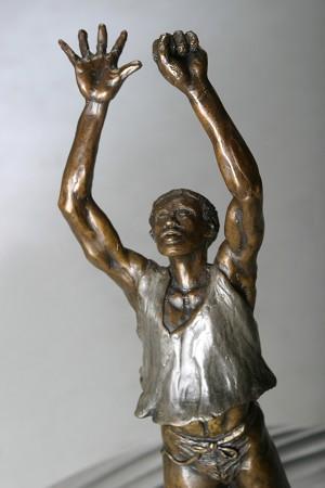 George NockEmancipationBronze Sculpture
