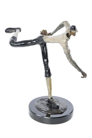 George NockHeatBronze Sculpture