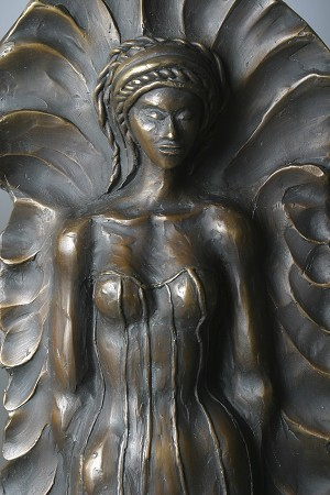 George Nock Princess Bronze Sculpture
