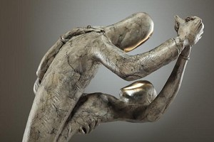 George Nock  SOIREE Bronze Sculpture