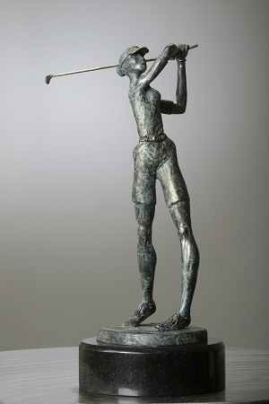 George Nock Sweet Tee Bronze Sculpture