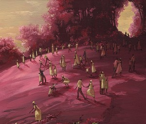 John Holyfield AscensionOriginal Oil on Canvas