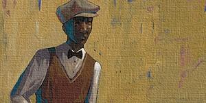 John HolyfieldRelaxing on the Green MediumGiclee On Canvas