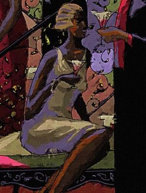 John HolyfieldSOCIALITESGiclee On Canvas