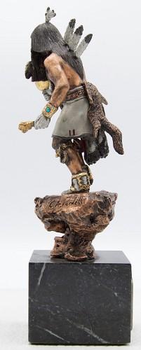 Christopher Pardell Angakchina - KachinaBronze Sculpture