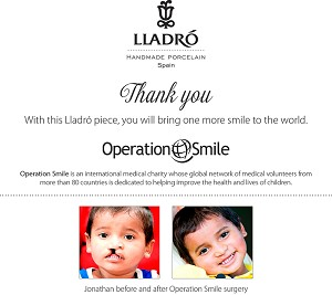 Lladro THE SON   - OPERATION SMILE