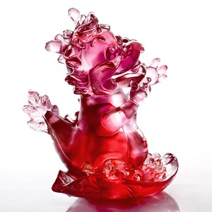 Liuli Crystal Zodiac (Dragon, The Light of Future) - Little Ambitious Dragon