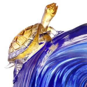 Liuli CrystalCrystal Turtle Figurine (Achievement)