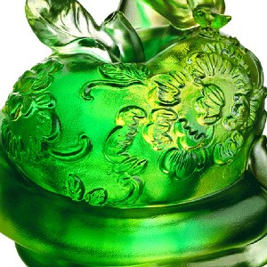 Liuli Crystal A Flowery World of Happiness