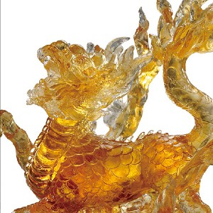 Liuli CrystalMythical Creature (Auspicious Acquisition) - Qilin of the Center – The Joy Amongst Us
