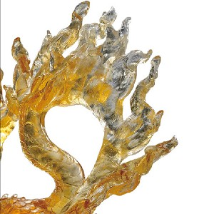Liuli Crystal Mythical Creature (Auspicious Acquisition) - Qilin of the Center – The Joy Amongst Us