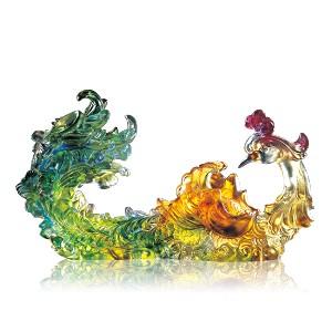 Liuli CrystalPhoenix (Prosperity, When the Time is Right) - Outstanding Beauty
