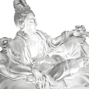 Liuli Crystal Fulfillment of the Lotus