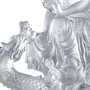 Liuli Crystal  Enlightened by the Auspicious Dragon