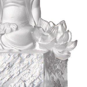 Liuli Crystal Content - A Flower Blooms