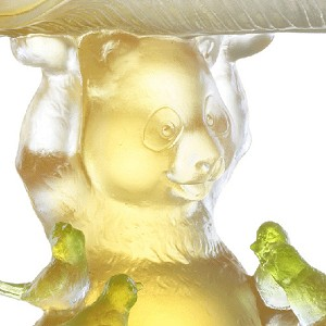 Liuli Crystal Bear and Birds (Friendship, Protection) - All of Us